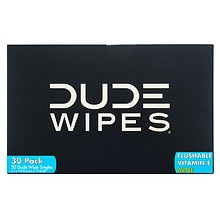Dude Wipes Personal Wipes, Singles