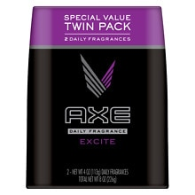 AXE Deodorant Body Spray, Twin Pack Excite