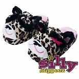 Silly Slippeez Lucky Leopard Large