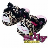 Silly Slippeez Lucky Leopard Medium