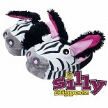 Silly Slippeez Zanny Zebra Medium