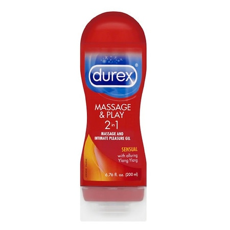 Durex Massage & Play:Ylang Ylang- Intensify 2 in 1 Massage Gel and Intimate Lubricant Sensual with Alluring Ylang Ylang