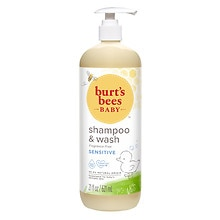 Burt's Bees Baby Bee Shampoo & Wash with Pump Fragrance Free