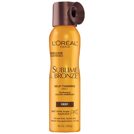 L'Oreal Paris Sublime ProPerfect Salon Airbrush Self-Tanning Mist Deep