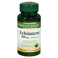 Nature's Bounty Echinacea, 400 mg Capsules