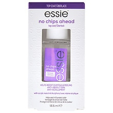 essie No Chips Ahead Top Coat, Anti-Chip + Shine
