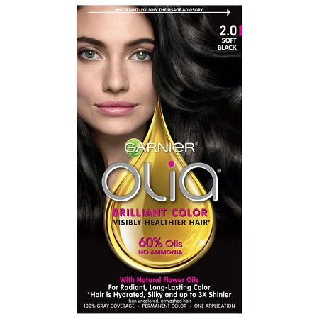 Oil Powered Permanent Haircolor by Garnier Olia