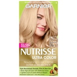 Garnier Nutrisse Ultra Color Ultra Lightening Blondes for Naturally Dark Hair Nourishing Color Creme LB1 Ultra Light Cool Blonde