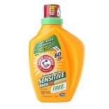 Arm & Hammer Laundry Detergent Sensitive Skin, 4X Concentrated Perfume & Dye Free