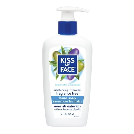 Kiss My Face Hand Soap Fragrance Free