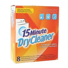 15 Minute Dry Cleaner Cleaning Cloths