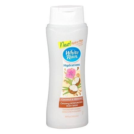 Moisturizing Creamy Bodywash Coconut & Hibiscus by White Rain