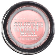 Maybelline EyeStudio Color Tattoo Metal 24hr Cream Gel Shadow