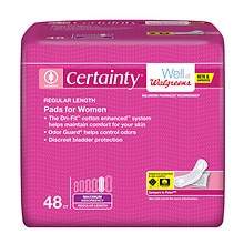 Walgreens Certainty Pads for Women