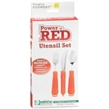 Essential Medical Power of Red Utensil Set