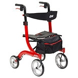 Drive Medical Nitro Rollator Red
