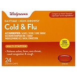 Walgreens Daytime Multi-Symptom Cold & Flu Relief Liquid Caps
