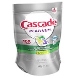 Cascade Platinum ActionPacs Dishwasher Detergent Lemon Burst