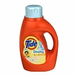 Tide with Touch of Downy Liquid Laundry Detergent Sun Blossom