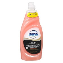 Dawn Ultra Hand Renewal with Olay Beauty Dishwashing Liquid Pomegranate Splash