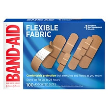 Band-Aid Flex Fabric Bandages Assorted