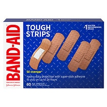 Band-Aid Tough Strips Adhesive Bandages
