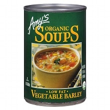 Amy's Organic Soup Vegetable Barley
