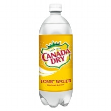 Canada Dry Tonic Water 1 Liter Bottle