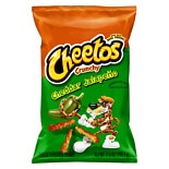Cheetos Crunchy Cheese Flavored Snacks Cheddar Jalepeno