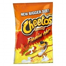 Cheetos Crunchy Cheese Flavored Snacks Hot Limon