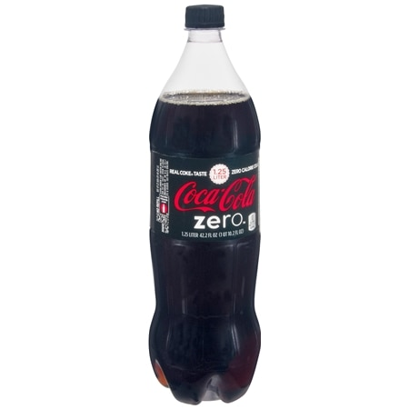Coke Zero Soda Cola