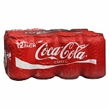 Coca-Cola Soda 12 oz Cans