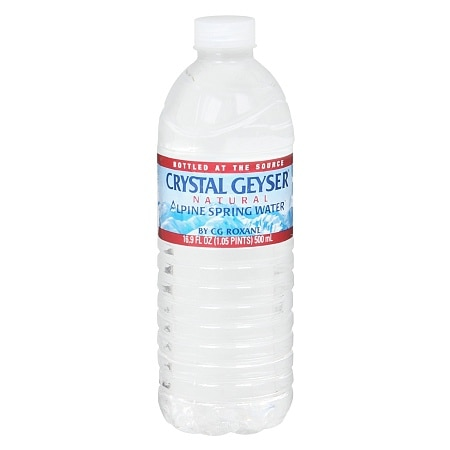 Crystal Geyser Natural Alpine Spring Water 16.9 oz Bottle