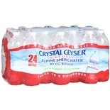 Crystal Geyser Natural Alpine Spring Water 16.9 oz Bottles 24 Pack