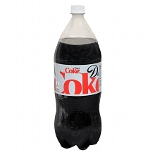 Diet Coke Soda 1.75 Liter Bottle Cola