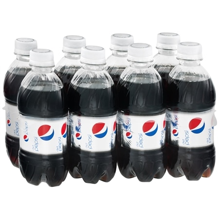 Diet Pepsi Soda Cola,12 oz. Bottles