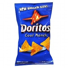 Doritos Flavored Tortilla Chips Cool Ranch