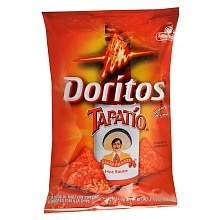 Doritos Tapatio Flavored Tortilla Chips Tapatio