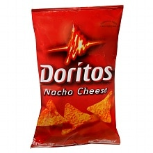 Doritos Flavored Tortilla Chips Nacho
