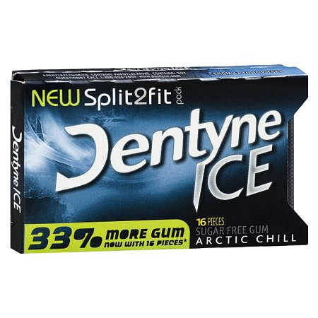 Dentyne Ice Sugar Free Gum Arctic Chill