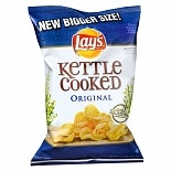 Lay's Kettle Cooked Potato Chips Original Original