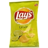 Lay's Flavored Potato Chips Limon