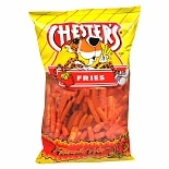 Chester's Fries Corn & Potato Snacks Hot