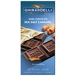 Ghirardelli Chocolate Bar Dark Chocolate & Sea Salt Caramel