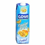 Goya Cocktail Beverage 33.8 oz Carton Passion Fruit