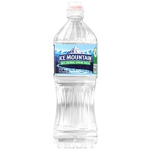 Ice Mountain 100% Natural Spring Water Sport Top 23.7 oz Bottle