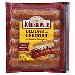 Johnsonville Beddar with Cheddar Smoked Sausages Cheddar