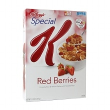 Special K Crunchy Rice and Wheat Flakes Cereal Strawberry