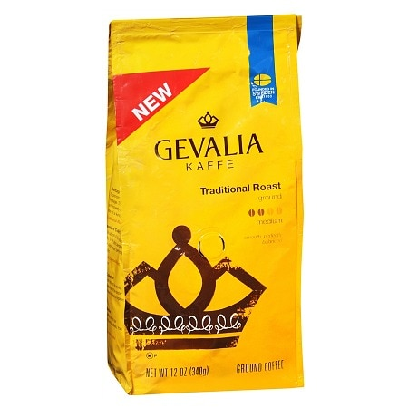 Gevalia Ground Coffee Traditional Roast