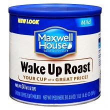Maxwell House Ground Coffee Wake Up Roast